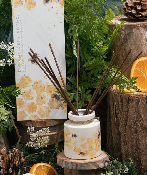 Bee Decorated Reed Diffuser